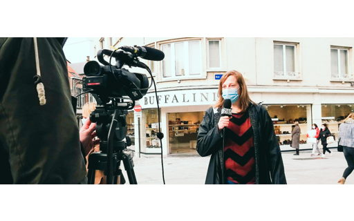 Tine studeert International Media & Entertainment Business