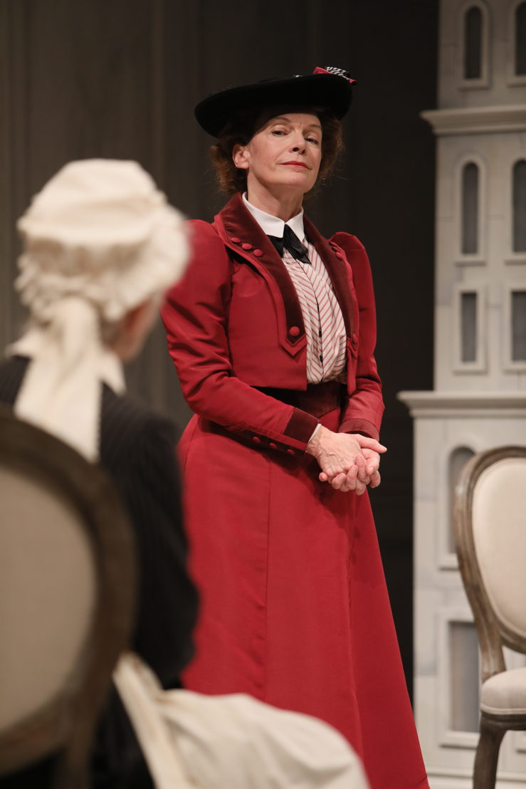 Barbara Gordon (Anne Marie) and Martha Burns (Nora) in A Doll's House, Part 2 by Lucas Hnath / Photos by Tim Matheson<br/><br/>Canadian Premiere<br/>September 16 – October 14, 2018<br/>&lt;a href=&quot;https://www.belfry.bc.ca/a-dolls-house-part-2/&quot; rel=&quot;nofollow&quot;&gt;www.belfry.bc.ca/a-dolls-house-part-2/&lt;/a&gt;<br/><br/>Belfry Theatre, 1291 Gladstone Avenue, Victoria, British Columbia, Canada<br/><br/>Creative Team<br/>Lucas Hnath - Playwright<br/>Michael Shamata - Director<br/>Christina Poddubiuk - Set &amp; Costume Designer<br/>Kevin Fraser - Lighting Designer<br/>Tobin Stokes - Composer &amp; Sound Designer<br/>Jennifer Swan - Stage Manager<br/>Carissa Sams - Assistant Stage Manager<br/>Hilary Britton-Foster - Assistant Lighting Designer