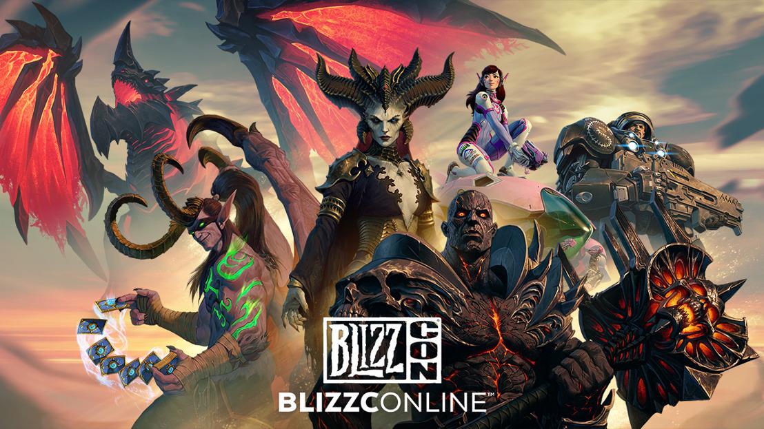 يجتمع المجتمع العالمي لشركة Blizzard Entertainment® في بليزكون عبر الانترنت في 20-21 فبراير