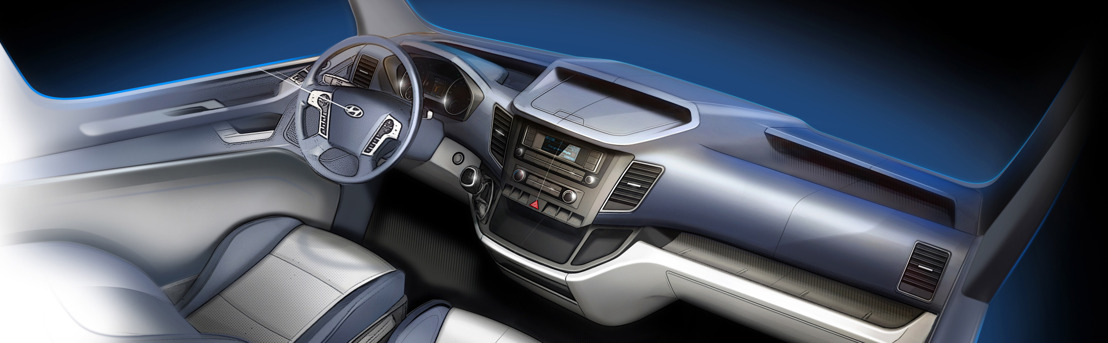 Hyundai Motor onthult  de H350, een nieuwe bestelwagen voor Europa.