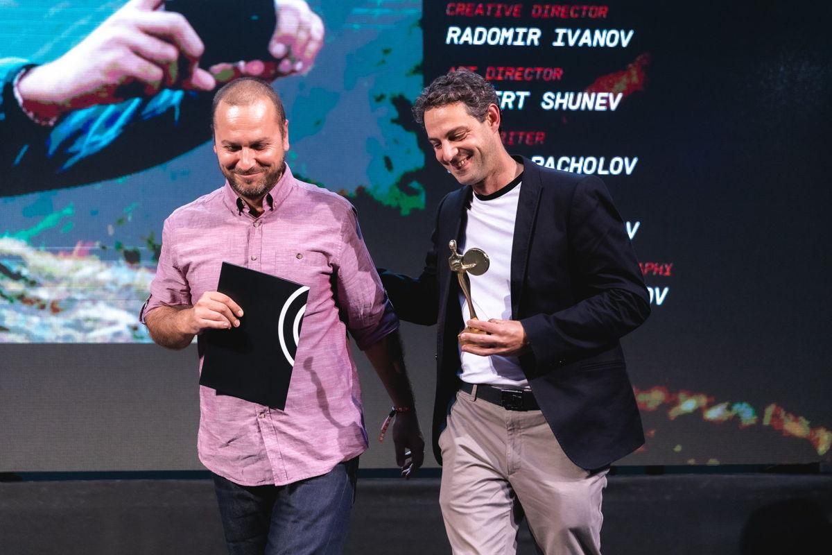 Петър Кесерджиев, главен творчески директор, и Радомир Иванов, творчески диретор в Saatchi & Saatchi Sofia