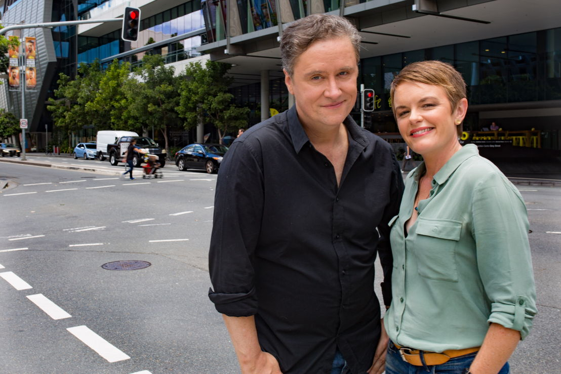 Richard Fidler and Sarah Kanowski