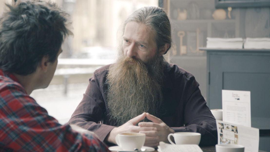 WRDW: Jeroen Buyse en Aubrey De Grey (afl 1) - (c) VRT