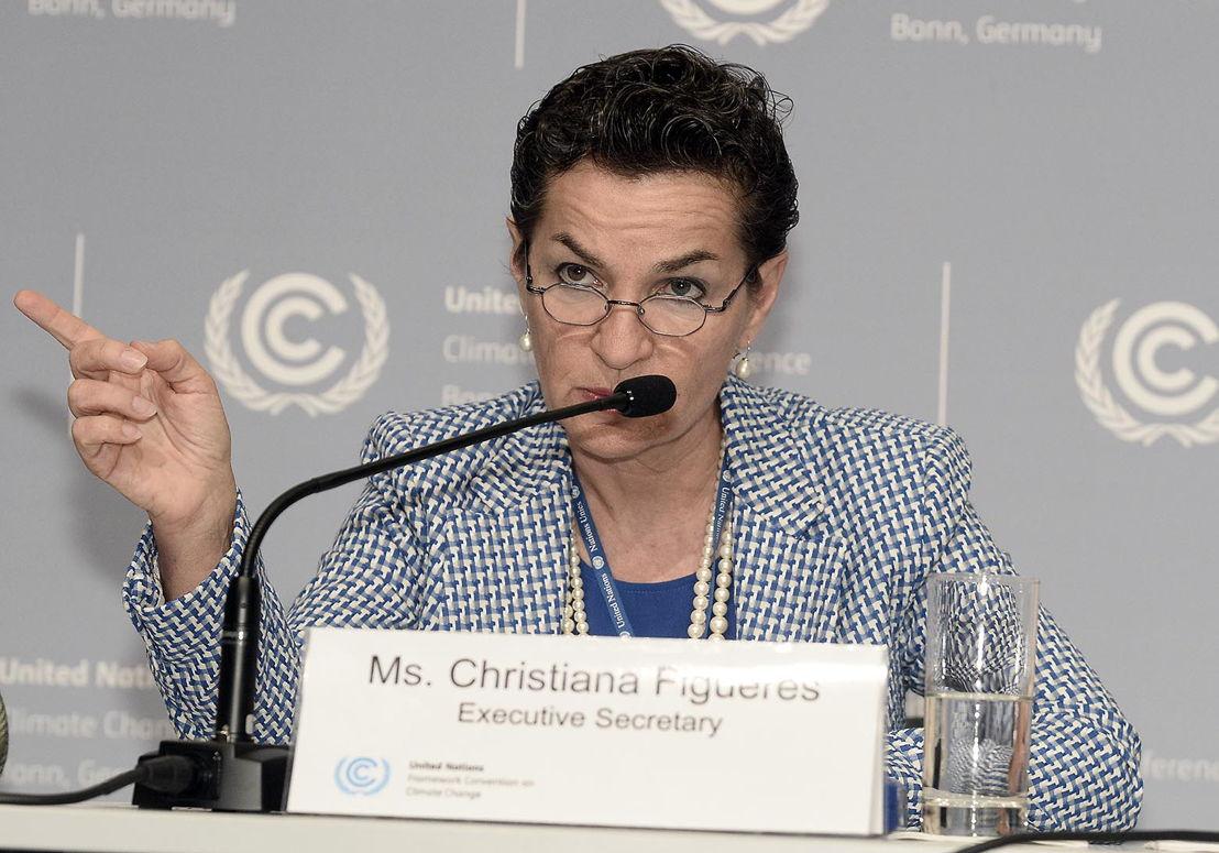 Christiana Figueres,  secrétaire générale de la CCNUCC