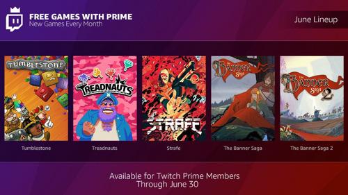 """Twitch Prime: Das sind die """"Spiele mit Prime"""" im Juni!"""