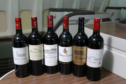 Cathay Pacific introduces selection of world-class Bordeaux wines in First Class