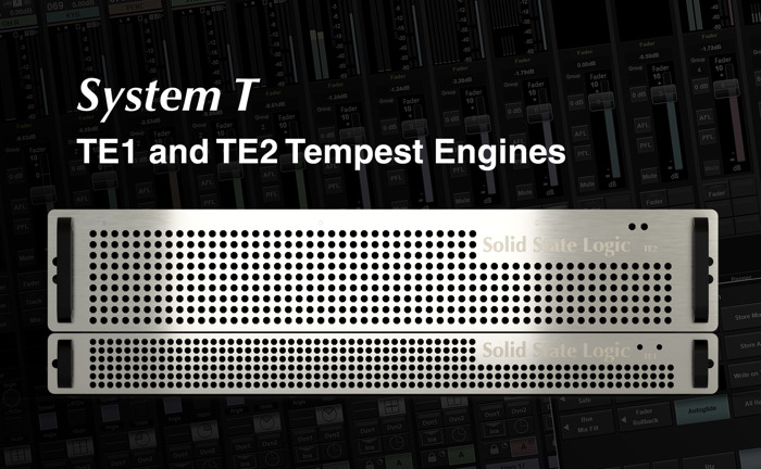 Solid State Logic's System T New Tempest Engines Offer Scalable and Agile Signal Processing Capacity