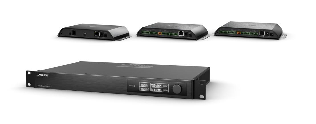 Bose Profesional presenta el sistema de audio para conferencias ControlSpace® EX