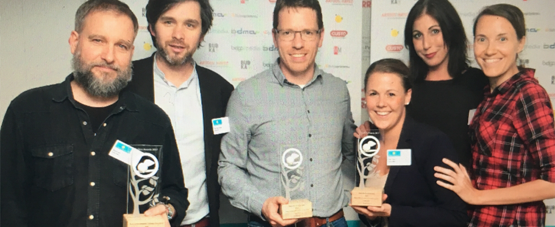 Head Office wins double gold at the Cuckoo Awards