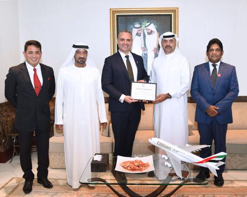 الحكومة النيوزيلندية تكرم الدائرة الأمنية في مجموعة الإمارات