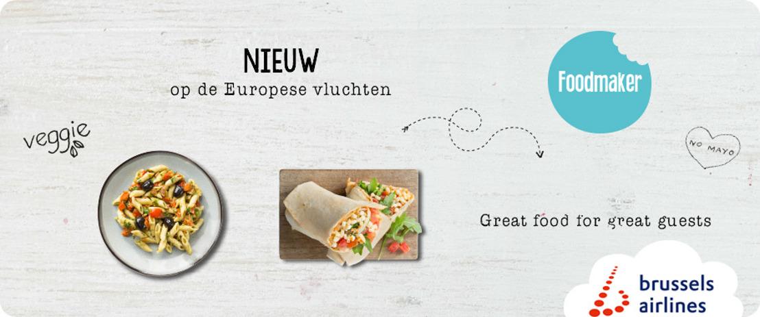 Brussels Airlines gaat in zee met het Belgische Foodmaker