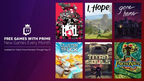 """Twitch Prime: Hier kommt das kostenlose """"Spiele mit Prime""""-Bundle im Mai!"""