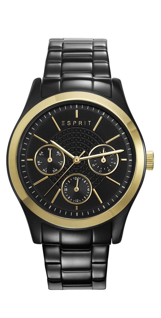 Montre ESPRIT Julia Night Black Gold : 179 €.