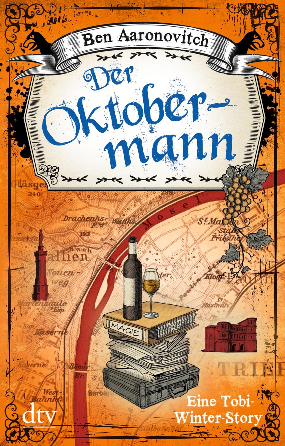 Magischer Oktober: Ben Aaronovitch liest bei Hugendubel