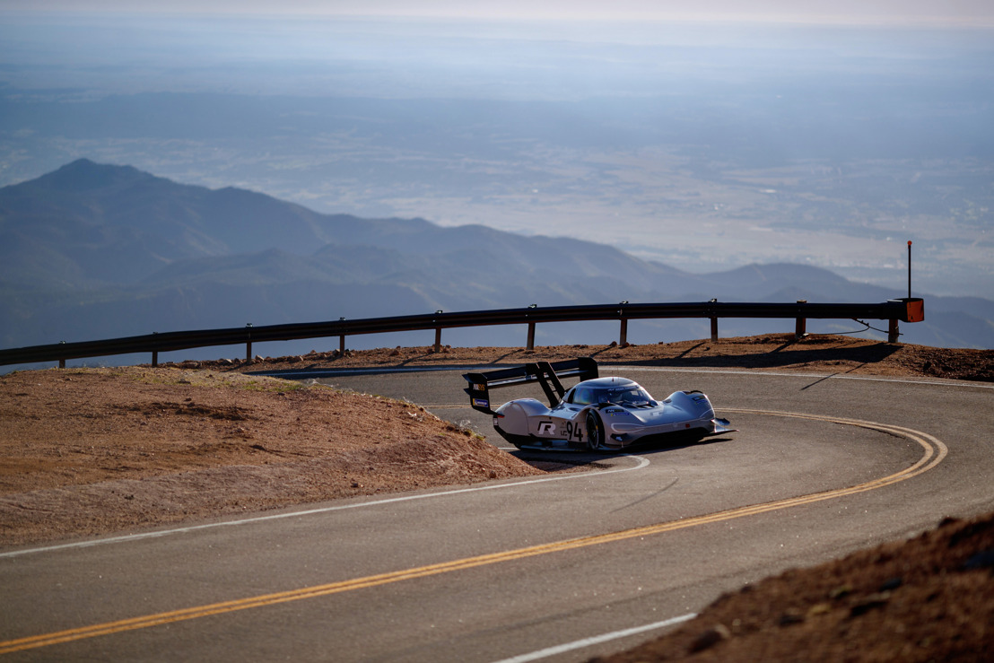 Highly-sophisticated and highly efficient – the drivetrain technology in the I.D. R Pikes Peak