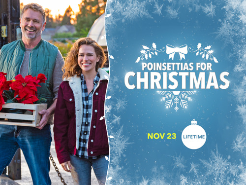 "TUNE IN ALERT! John Schneider Stars in the World Premiere of Lifetime's ""Poinsettias for Christmas"" — Friday, November 23 at 8/7c"