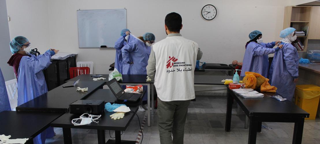 MSF renforce ses activités au Liban afin de répondre à la pandémie de COVID-19