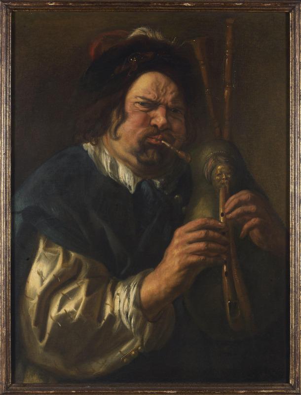 Doedelzakspeler_Jacob Jordaens_(c)_Rubenshuis (Bart Huysmans en Michel Wuyts)
