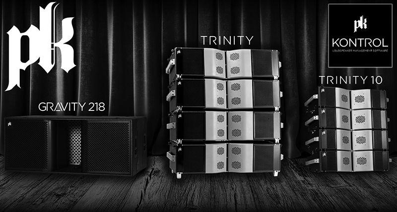 PK Sound Gravity, Trinity, and Trinity10