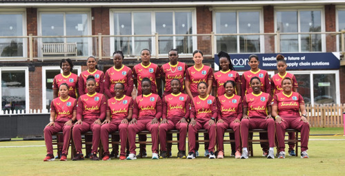West Indies Women's Team press room