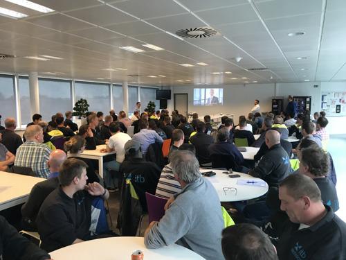 VINCI Energies Belgium met le focus sur le rôle du collègue lors de sa Safety Week