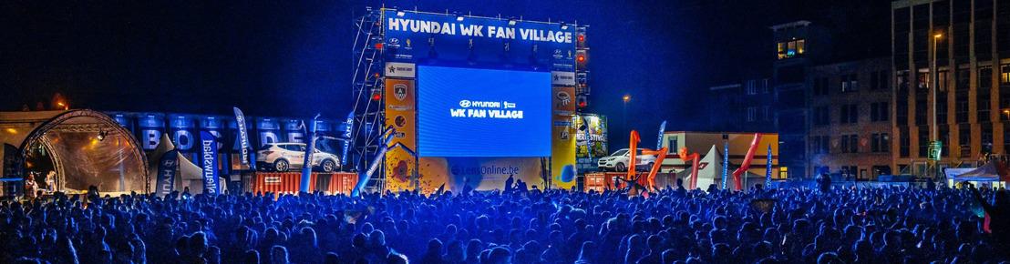 Les fans de foot sont les bienvenus pour encourager notre équipe nationale dans l'un des douze Fanparks à l'occasion de l'Euro