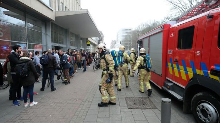 Grote brandoefening in WATT-toren: 400 mensen snel geëvacueerd