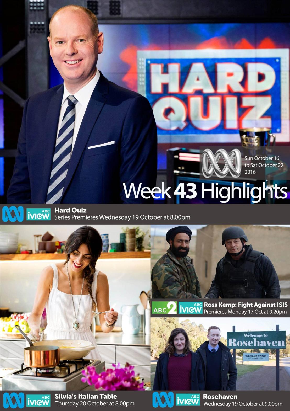 ABC Program Highlights - Week 43