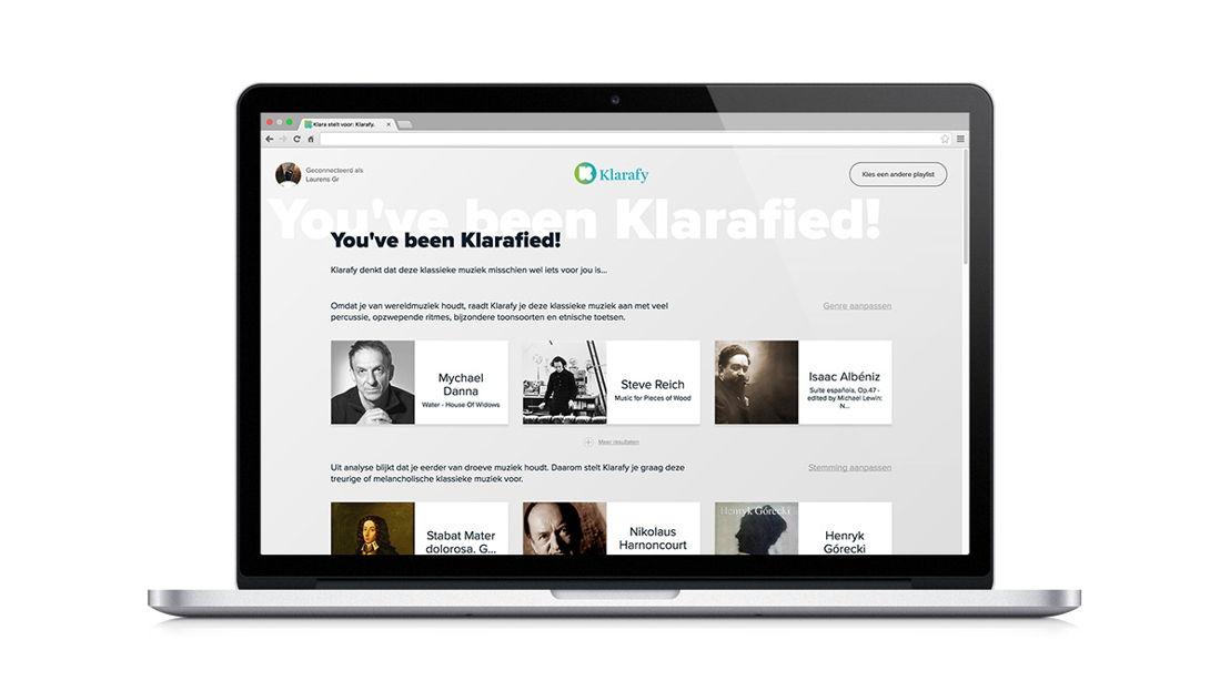 Resultaat Klarafy