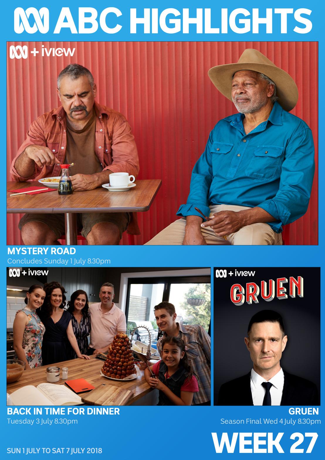 ABC TV Program Highlights - Week 27