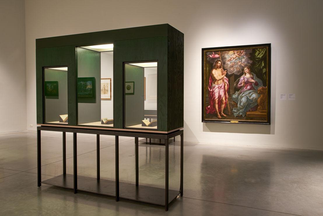 Vue de salle de l'exposition Hendrick De Clerck au M - Museum Leuven (c) Dirk Pauwels