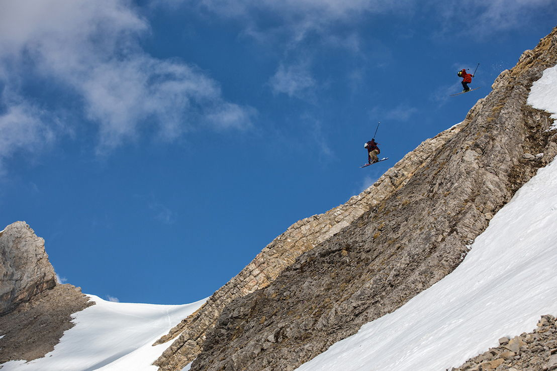 Candide Thovex and Henry Sildaru