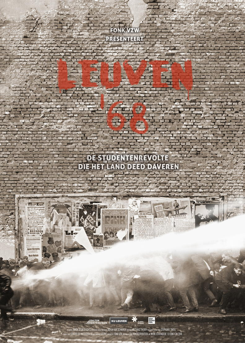 Poster project Leuven '68