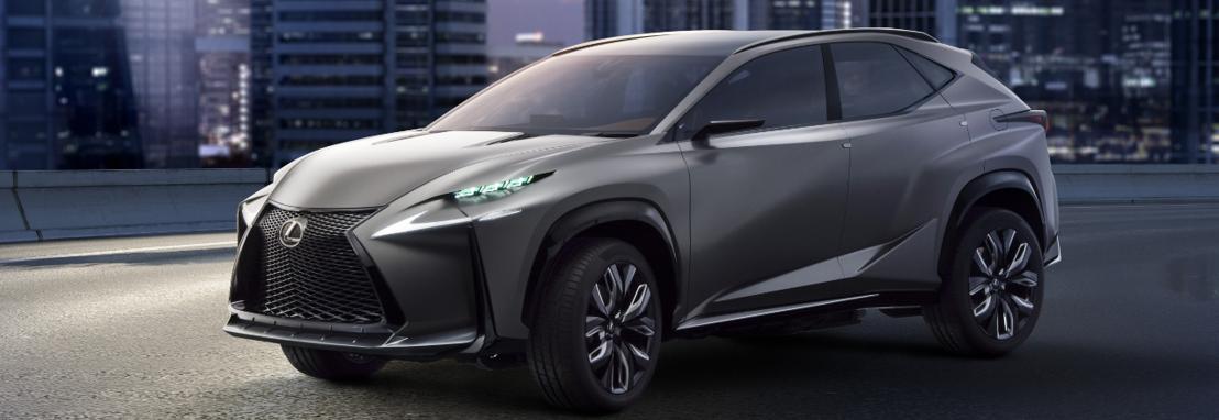 Première mondiale pour la version turbo du Lexus LF-NX au Salon de Tokyo