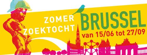 Culturele Zomerzoektocht in Brussel