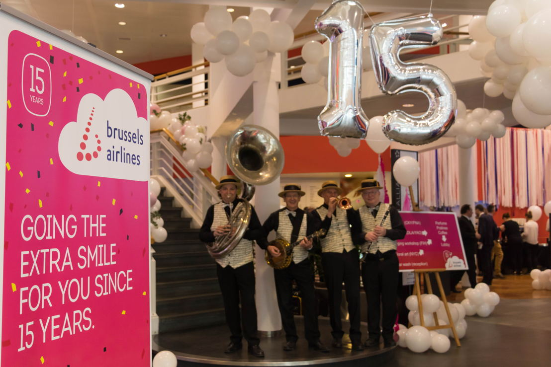 Celebrations at Brussels Airlines HQ