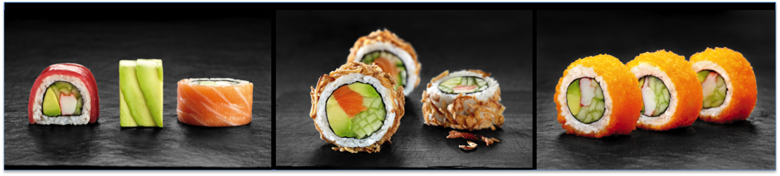 Sushi Daily crée trois nouvelles recettes  pour éveiller vos papilles !