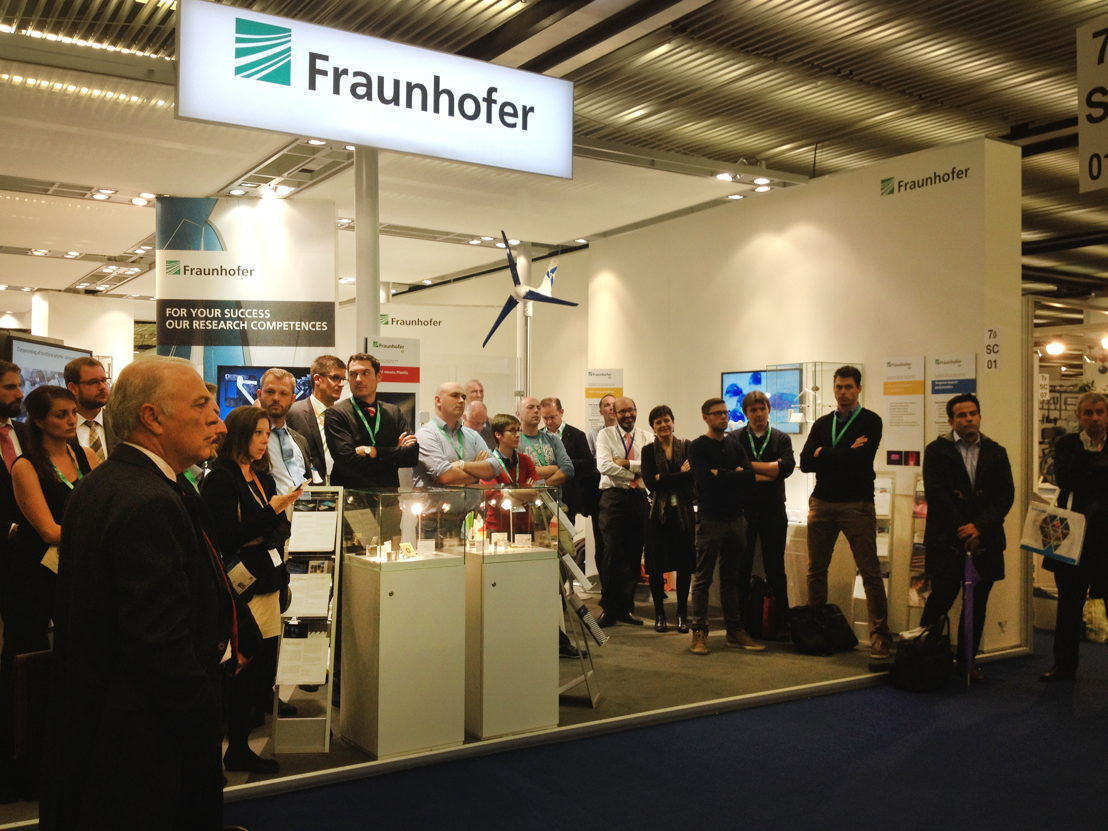 Fraunhofer Institute hosted the event which was followed by a cocktail party.