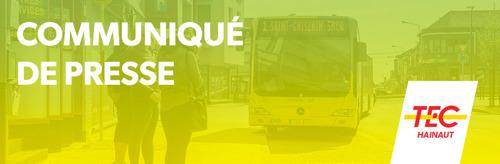 TEC Hainaut adapte ses horaires après les vacances scolaires