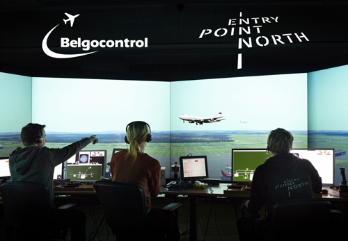 Entry Point North and Belgocontrol join forces to deliver high quality training