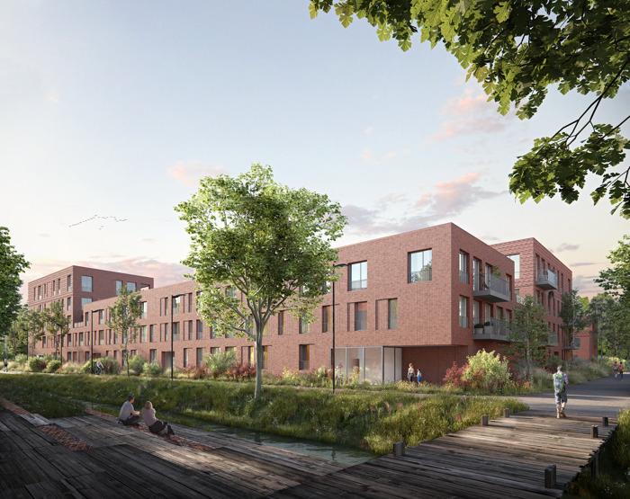 Duurzaamste wijk van Antwerpen lokt meer dan 100 kijklustigen