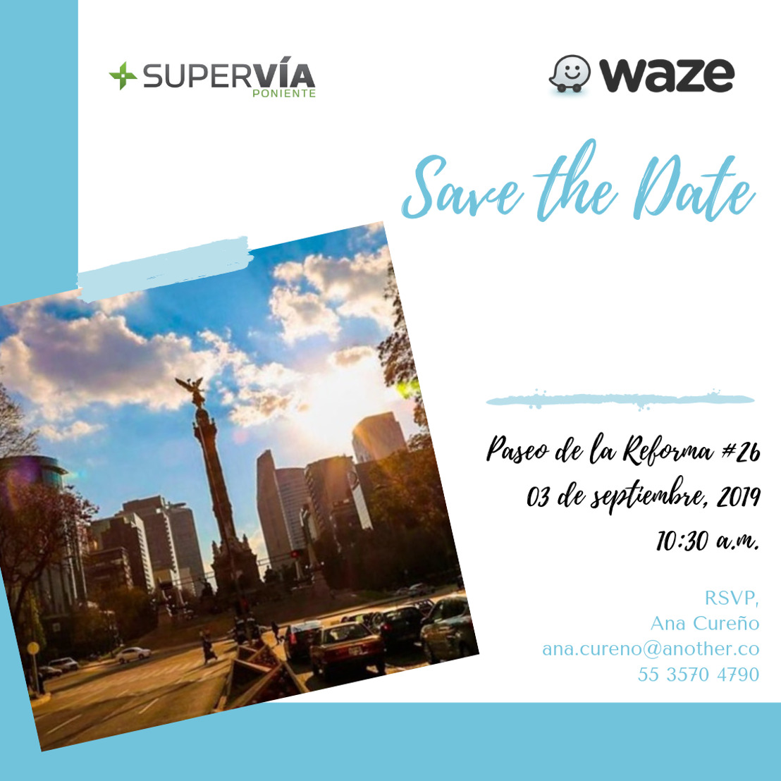 Waze Beacons México - Save the Date