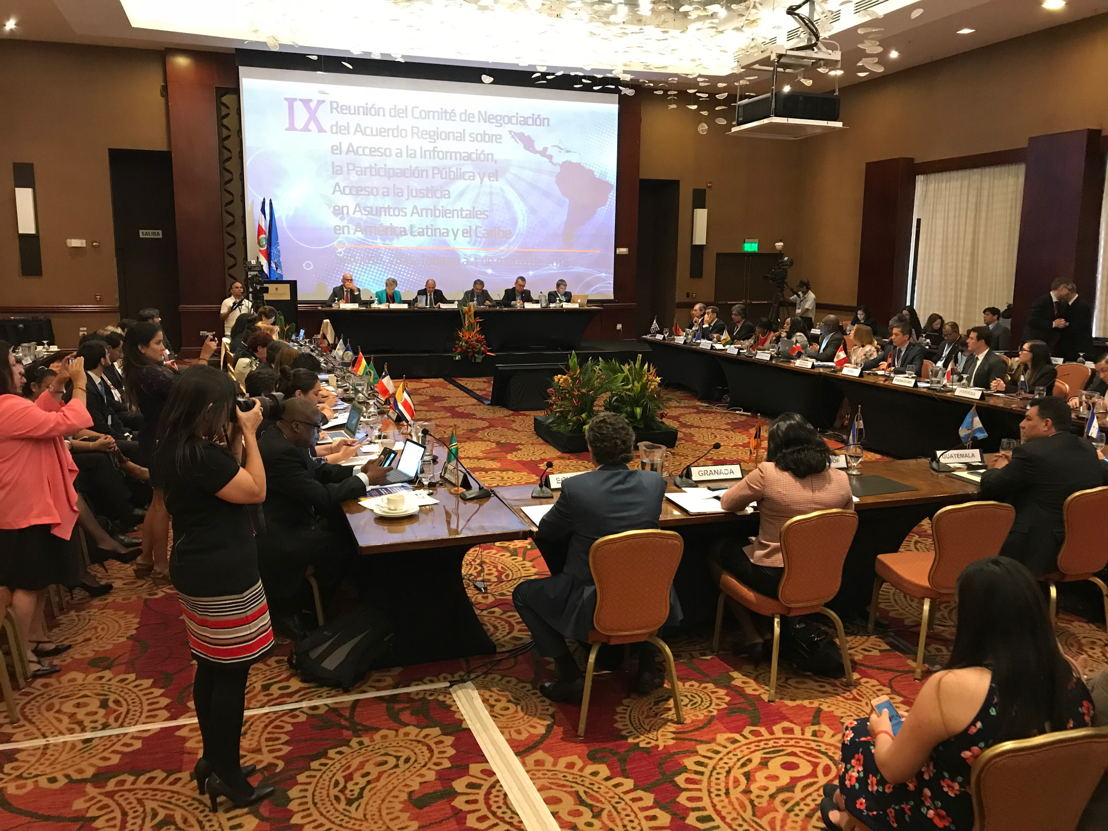Meeting on the Escazu Agreement