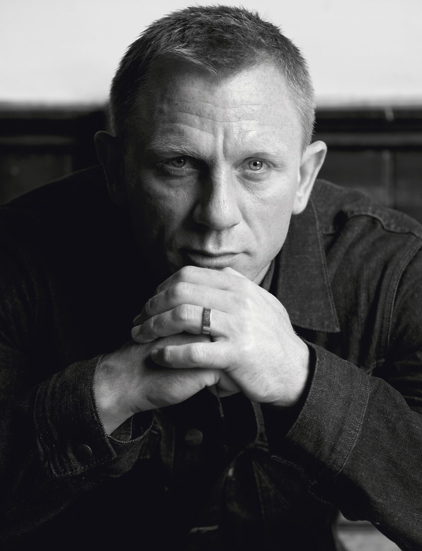 Retrato del actor Daniel Craig, el James Bond actual, tomada en un pub del norte de Londres en 2012<br/><br/>© Iconic Images / Terry O&#039;Neill