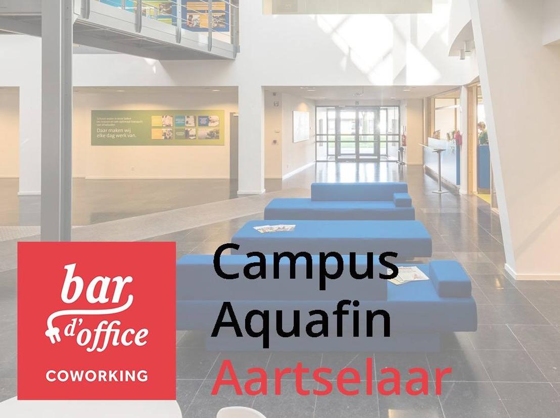 Aquafin stapt in de coworking wereld