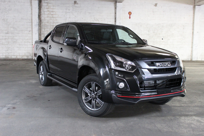 "Nieuwe D-Max ""Urban"" Limited Edition"