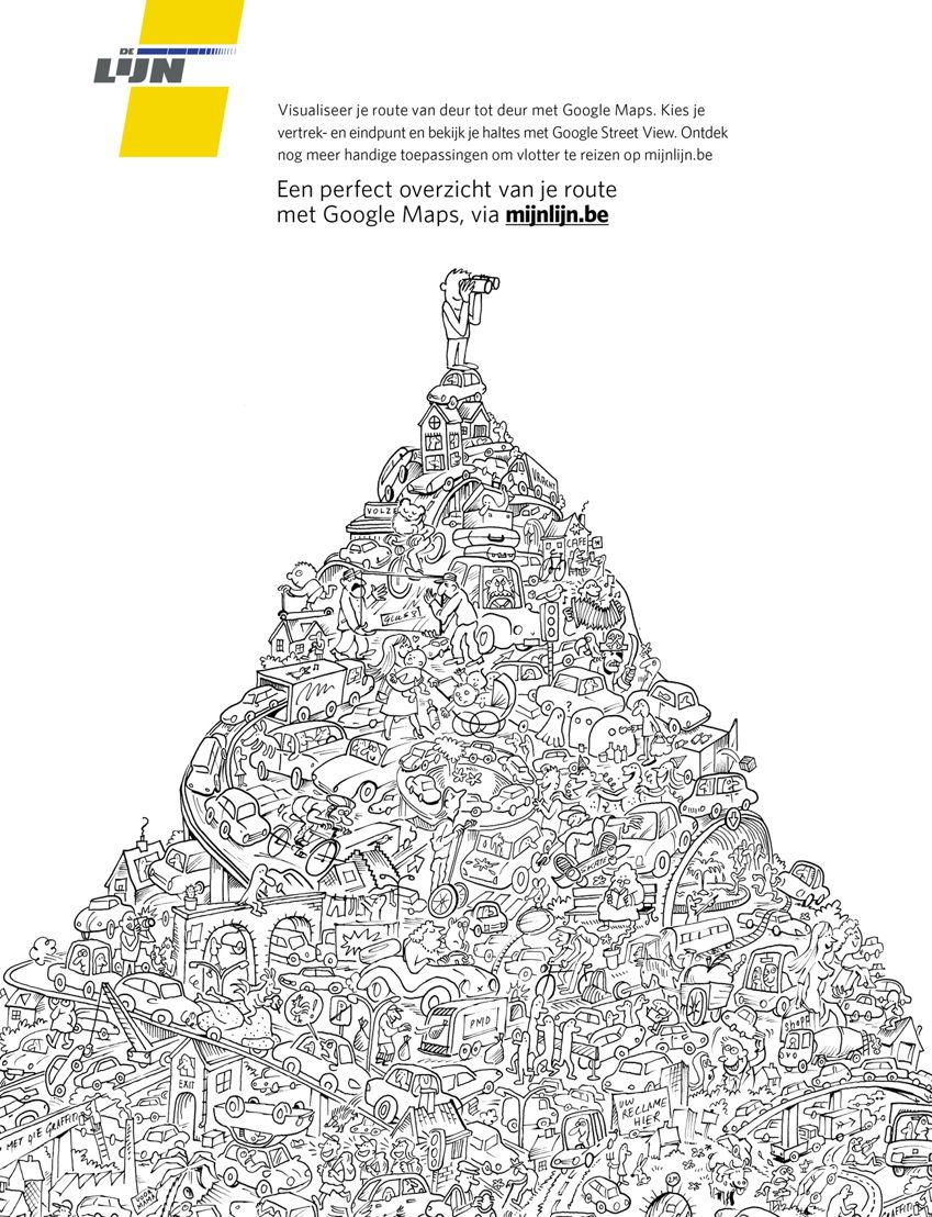 Annonce 3 - Mijnlijn.be (Google Maps)