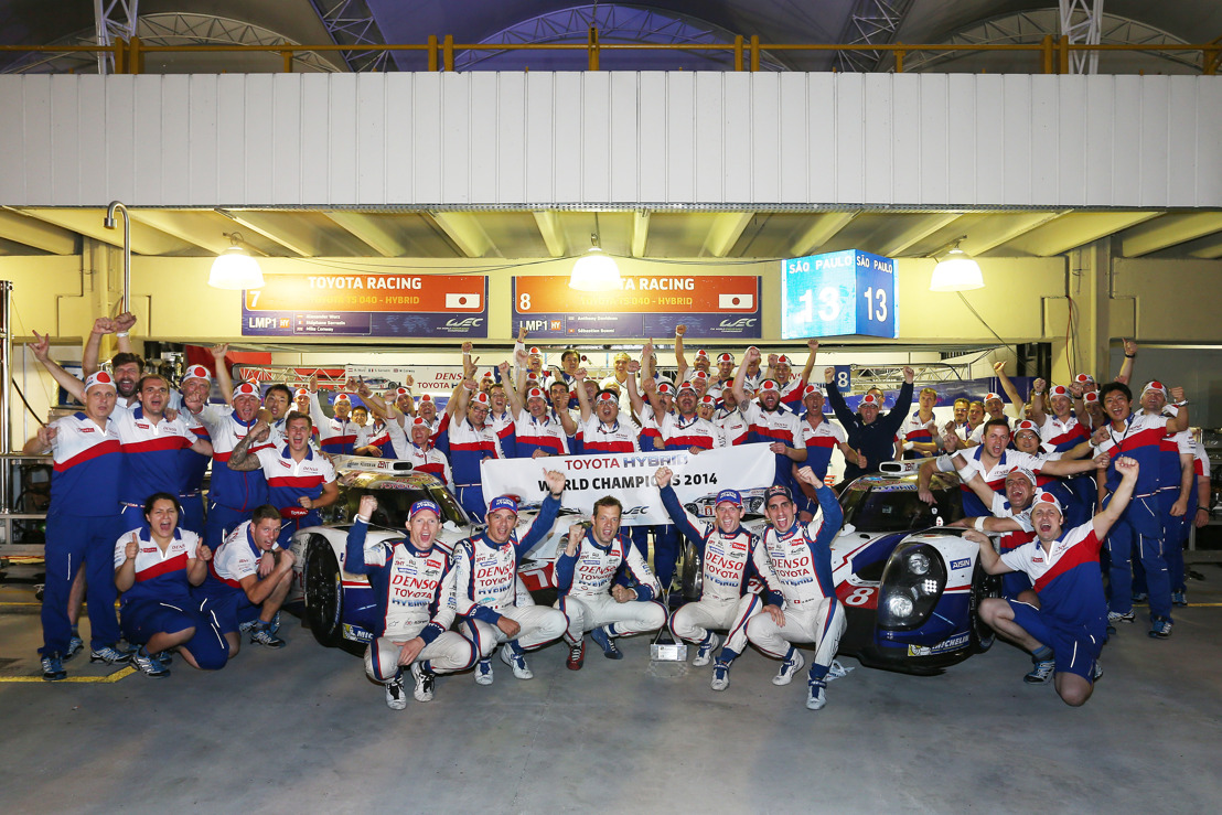 TOYOTA RACING: WORLD CHAMPIONS 2014