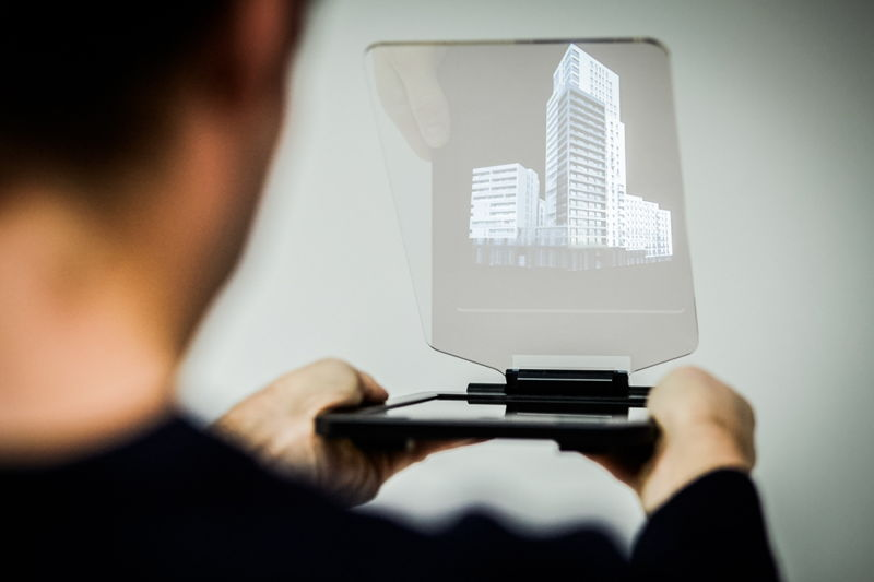 Holosculpture visualiseert projecten