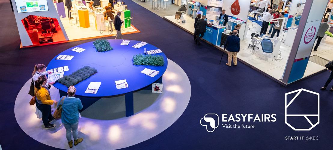 Un partenariat entre Start it @KBC et l'organisateur de salons Easyfairs pour doper les ventes des start-ups